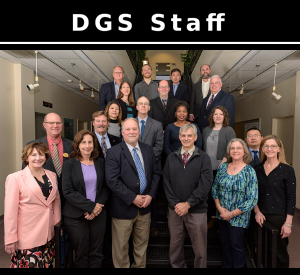Meet the people that make up the DGS